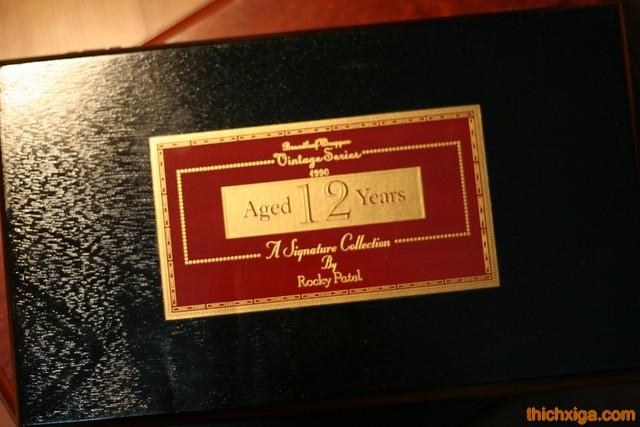 Hộp gỗ cigar rocky patel vintage 1990 robusto