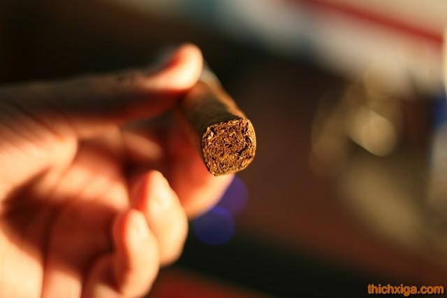 Cấu trúc điếu xì gà rất tốt