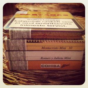 Một số loại xì gà mini phổ biến của Cuba