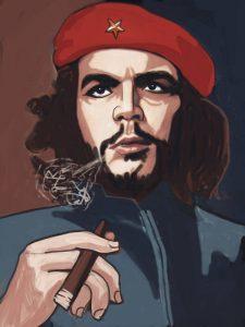 Che với điếu xì gà luôn trên tay