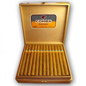 Cohiba Lanceros là điếu xì gà ưa thích của Fidel