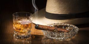 thưởng thức cigar với rượu rum