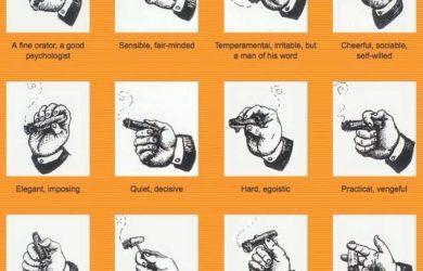 Cách cầm điếu xì gà