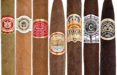 Mầu lá quấn ngoài Wrapper cho chỉ dẫn về độ nặng nhẹ của điếu thuốc